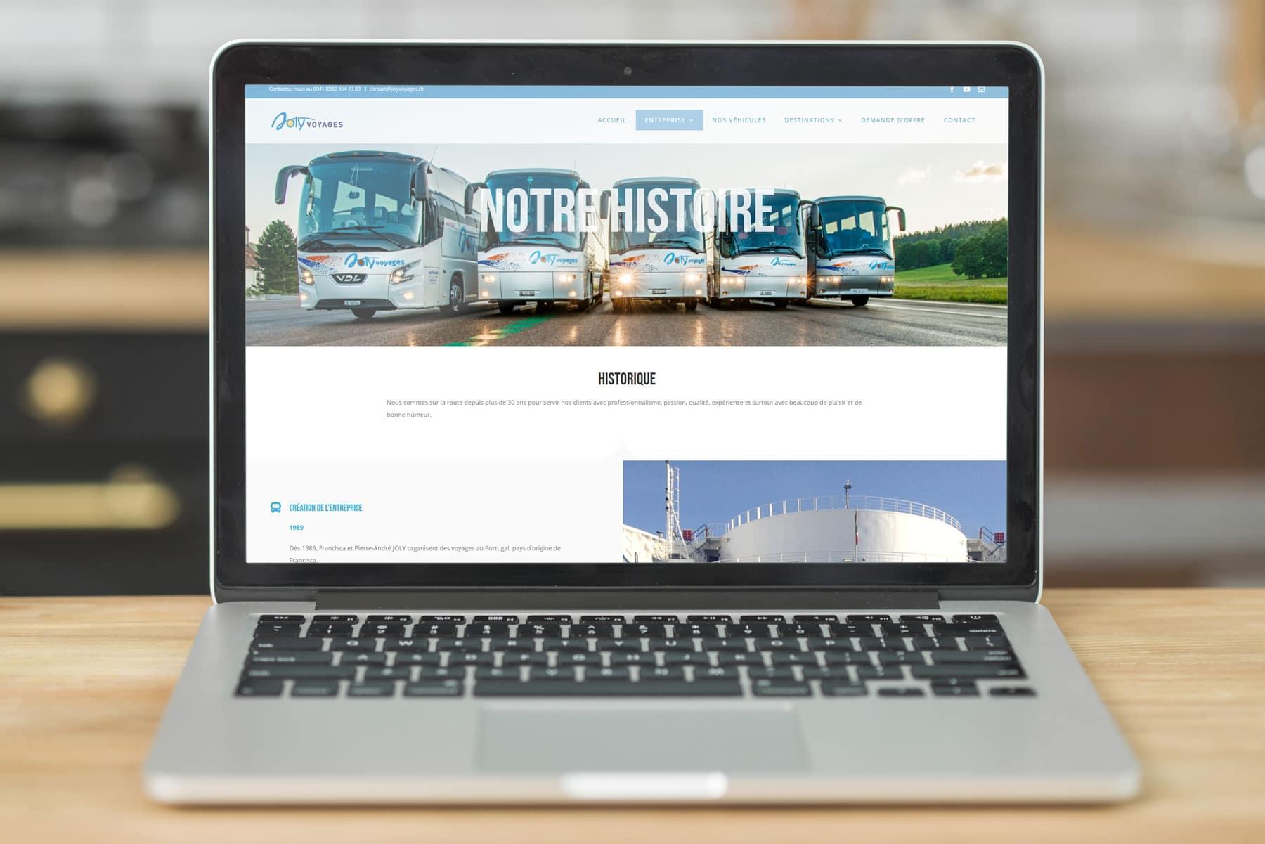 joly Voyages Site Web